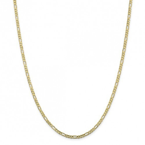 10FG080-20   Gold Figaro Chain - 20 inch   Payroll Jewelry