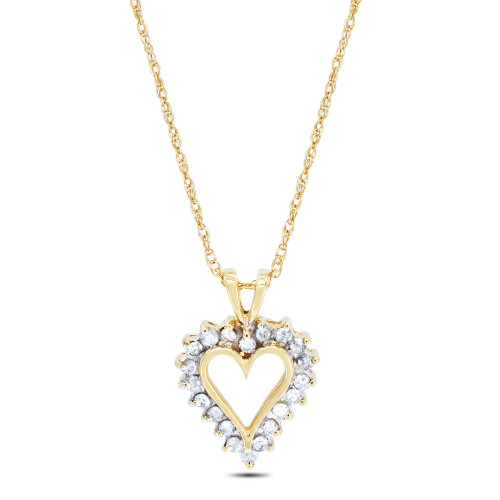 APH2087Y | Heart Pendant | Payroll Jewelry