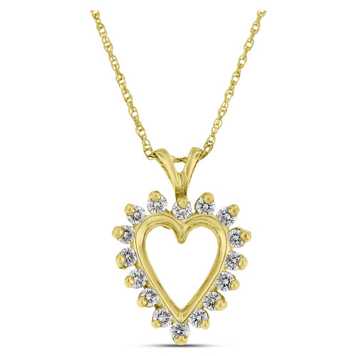 APH18235Y | Heart Pendant | Payroll Jewelry