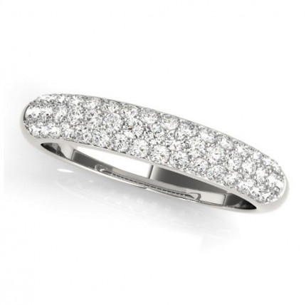 WB50420W | White Gold Ladies Ring | Payroll Jewelry