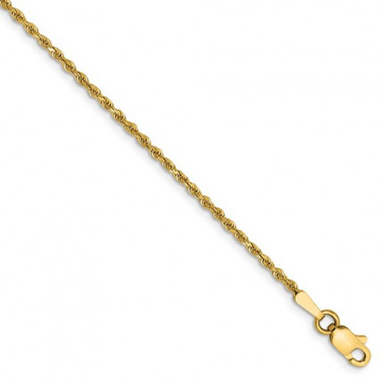 012L-9 | Rope Mens Gold Bracelet | Payroll Jewelry