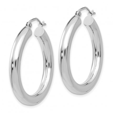 10T860 | Gold Hoop Earrings | Payroll Jewelry-