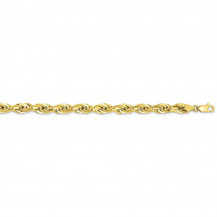 10BC170-24 | Gold Rope Chain - 24 inch | Payroll Jewelry