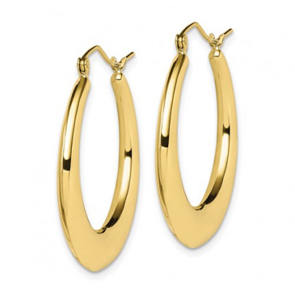 10ER139 | Gold Hoop Earrings | Payroll Jewelry