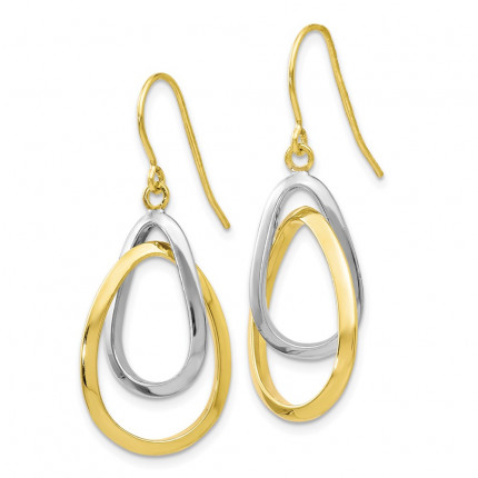 10LE351 | Gold Hoops | Payroll Jewelry
