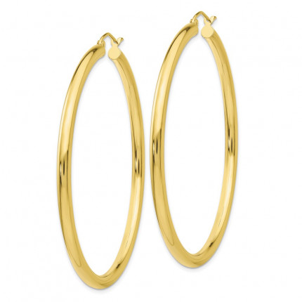 10T944 | Gold Hoop Earrings | Payroll Jewelry
