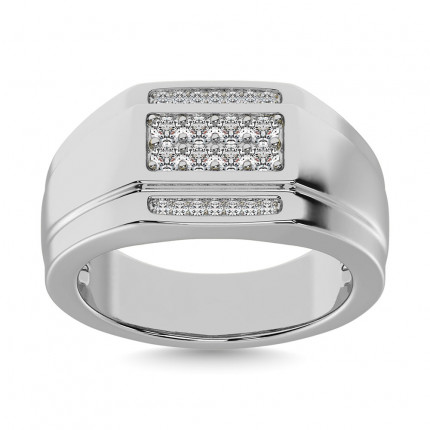 GR28048W | Mens Rings White | Payroll Jewelry