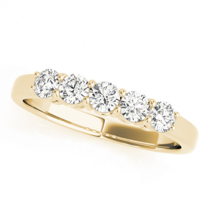 WB50633Y10 | Yellow Gold Band. | Payroll Jewelry