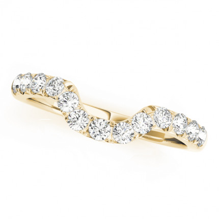 WS50657YB | Yellow Gold Band. | Payroll Jewelry