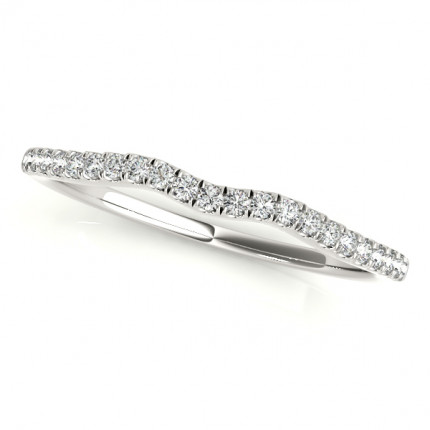 WB50922W | White Gold Band. | Payroll Jewelry