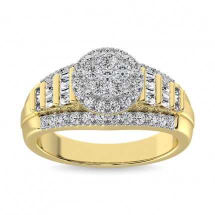 WSF57310B1Y | Halo Rings | Payroll Jewelry