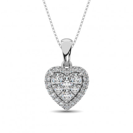 APH62388W | Heart Pendants | Payroll Jewelry
