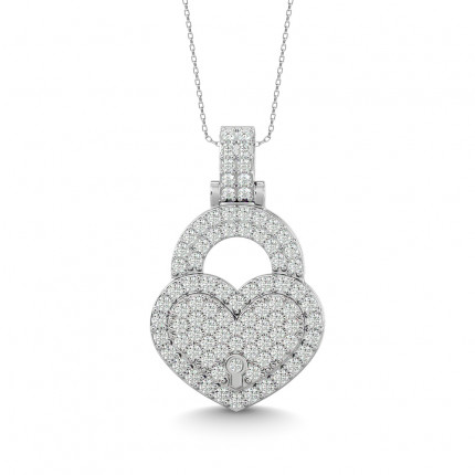 AP63408W | Heart Pendants | Payroll Jewelry