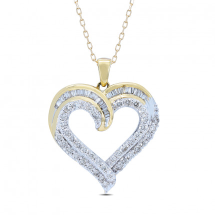 APH44276Y | Heart Pendants | Payroll Jewelry