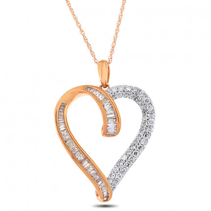APH99182P | Heart Pendant | Payroll Jewelry