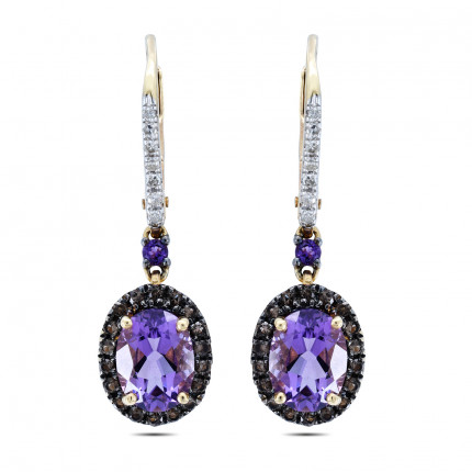 ER110Y | Gemstone Earrings | Payroll Jewelry