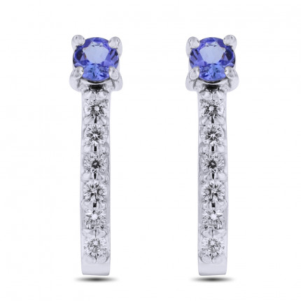 ER1211W | Gemstone Earrings | Payroll Jewelry