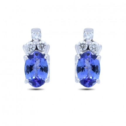 ER68W | Gemstone Earrings | Payroll Jewelry