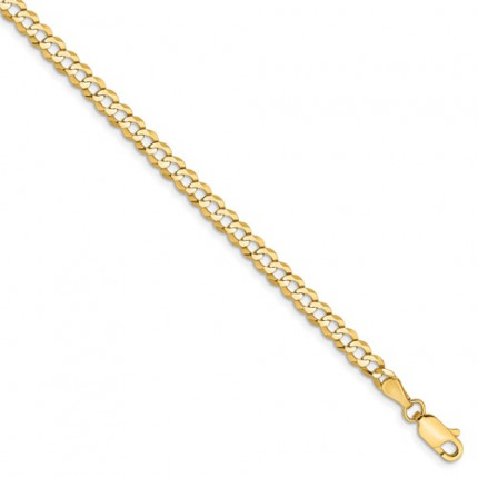 LCB100-8 | Cuban Mens Gold Bracelet | Payroll Jewelry
