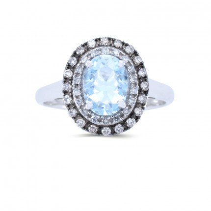 LCR162W | Gemstone Ladies Ring | Payroll Jewelry