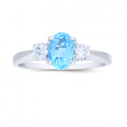 LCR202W | Gemstone Ladies Ring | Payroll Jewelry