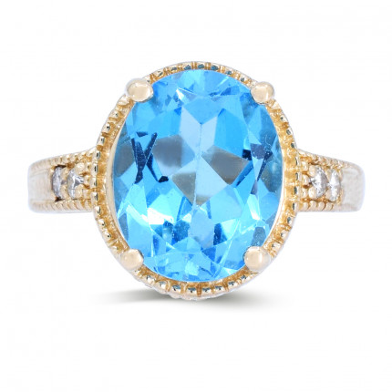 LCR4196Y | Gemstone Ladies Ring | Payroll Jewelry