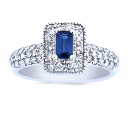 LCR44240W | Gemstone Ladies Ring | Payroll Jewelry