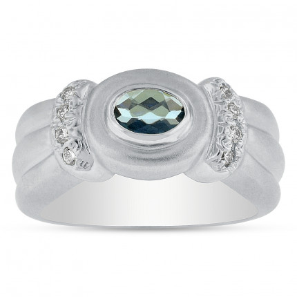LCR8222W | Gemstone Ladies Ring | Payroll Jewelry