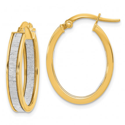 LE2199 | Gold Hoop Earrings | Payroll Jewelry