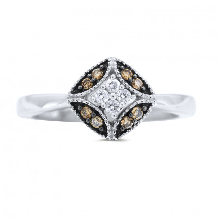 LR12133W | White Gold Ladies Ring | Payroll Jewelry