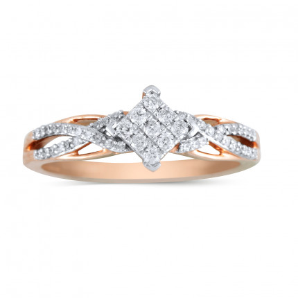 LR157P | White Gold Ladies Ring | Payroll Jewelry