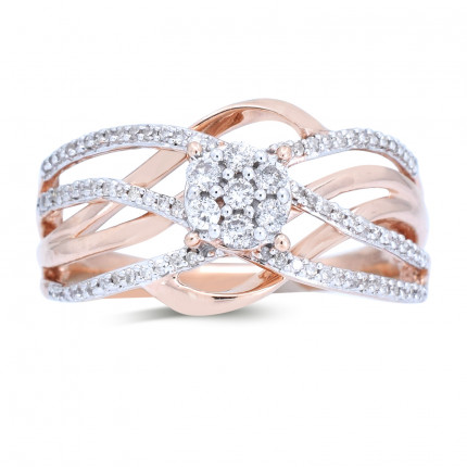 LR164P | White Gold Ladies Ring | Payroll Jewelry