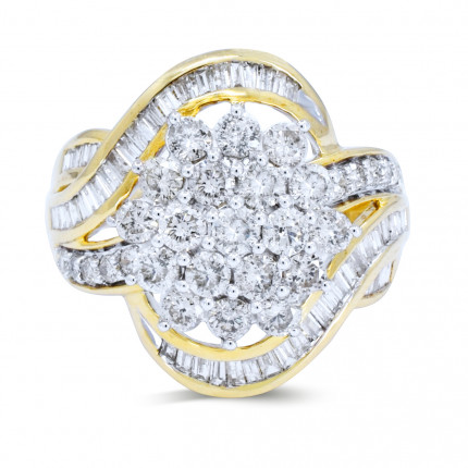 LR369Y | Yellow Gold Ladies Ring | Payroll Jewelry