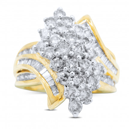 LR423Y | Yellow Gold Ladies Ring | Payroll Jewelry