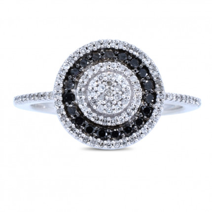LR50117W | White Gold Ladies Ring | Payroll Jewelry