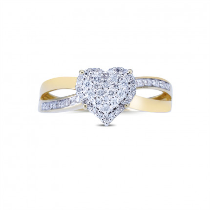 LRH216Y   Halo Rings   Payroll Jewelry