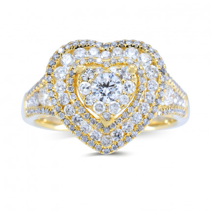 LRH98430Y | Ladies Rings | Payroll Jewelry