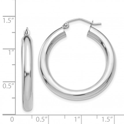 T860L | Gold Hoop Earrings | Payroll Jewelry