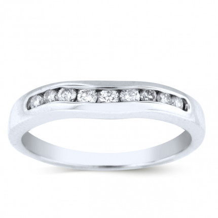 WB10168W | White Gold Band | Payroll Jewelry