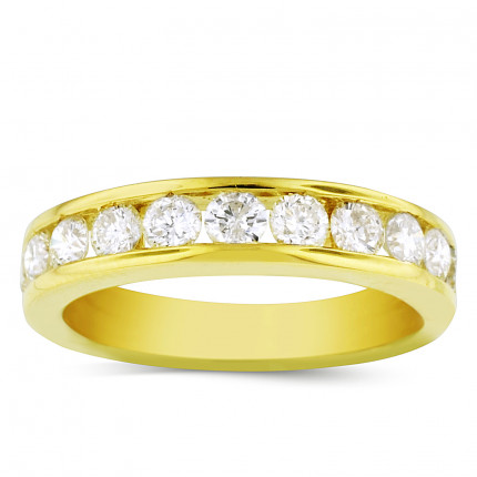 WB11578Y | Yellow Gold Band | Payroll Jewelry