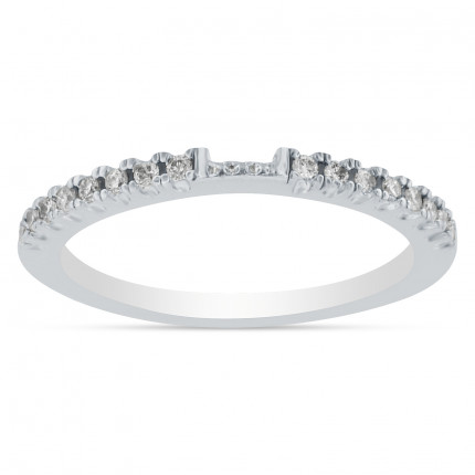 WB16101W | White Gold Band | Payroll Jewelry