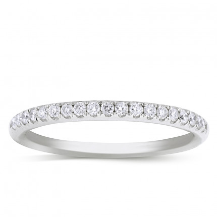WB19150W | White Gold Band | Payroll Jewelry