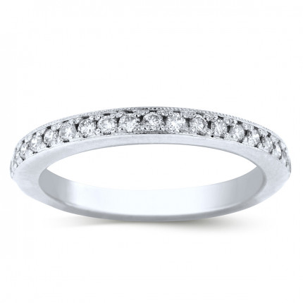 WB19161 | White Gold Band | Payroll Jewelry