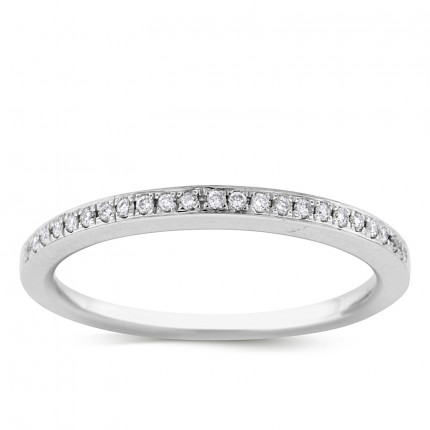 WB23132W | White Gold Band | Payroll Jewelry