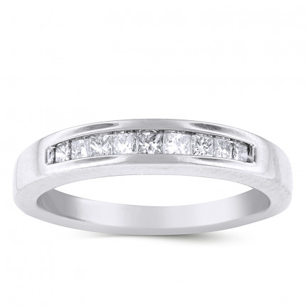 WB9176PRW | White Gold Band | Payroll Jewelry