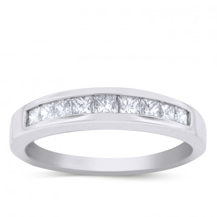 WB9253PRW | White Gold Band | Payroll Jewelry