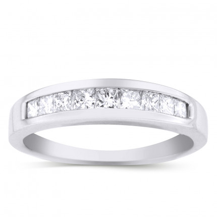 WB9303PRW | White Gold Band | Payroll Jewelry