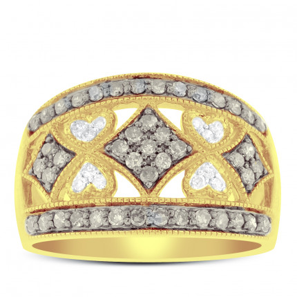 WLB57165Y | Yellow Gold Ladies Ring | Payroll Jewelry