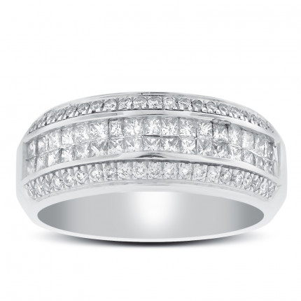 WLB78372W | White Gold Ladies Ring | Payroll Jewelry