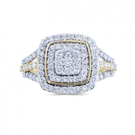 WLR191068Y   Halo Rings   Payroll Jewelry